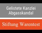 Stiftung Warentest gelistet