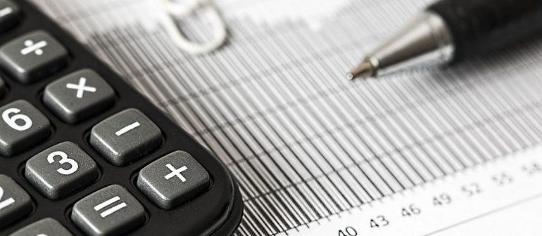 Taschenrechner-Stift-Tabelle