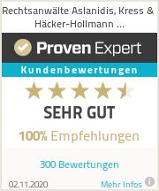 ProvenExpert-100-Prozent-Empfehlungen