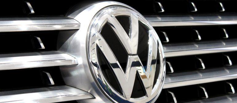VW-Auto-Kühlergrill